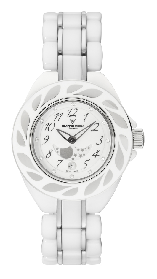 Catorex Ladies 779.8.4994.110 C-Pure Quartz White Watch